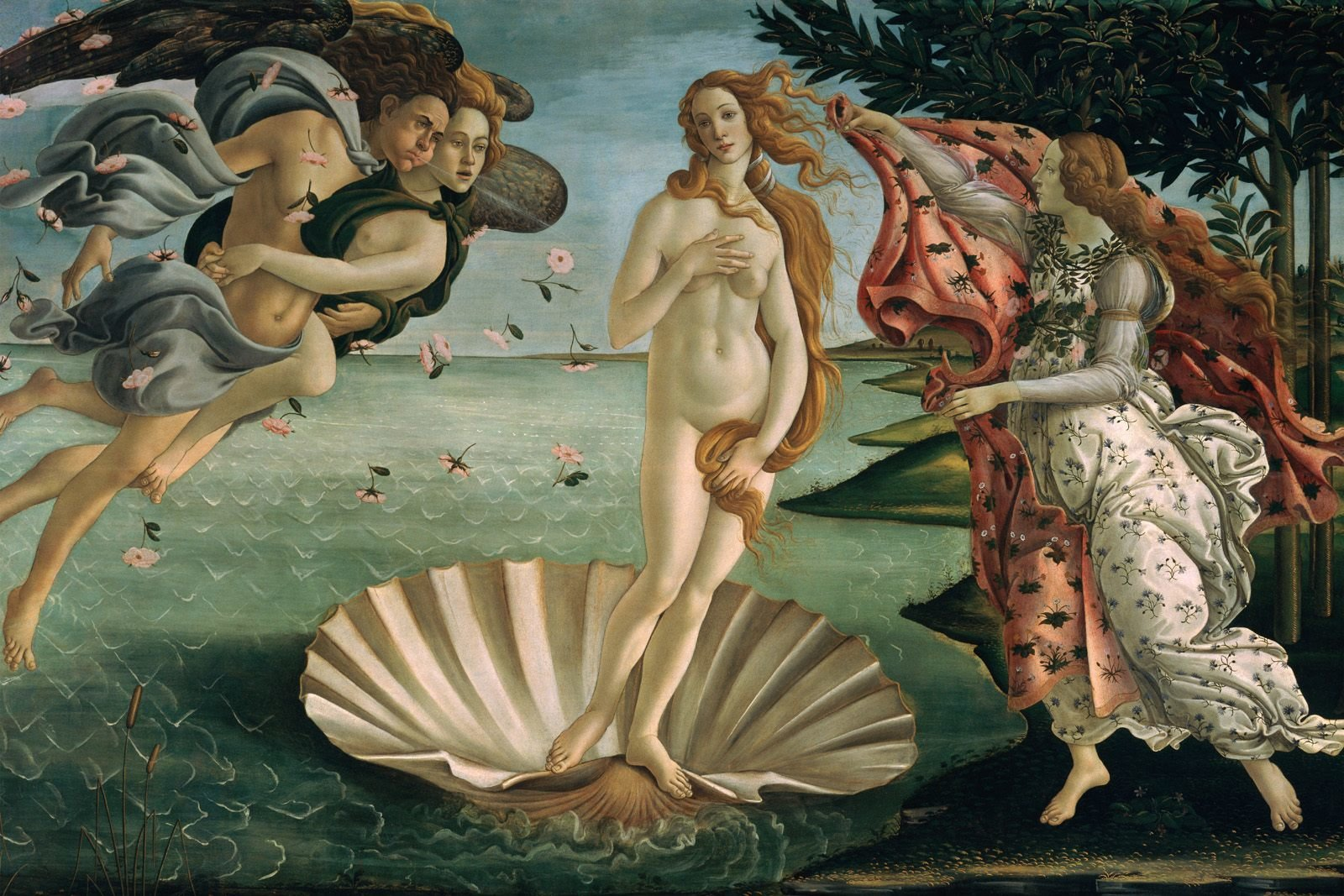 Sandro Botticelli, Birth of Venus, 1482