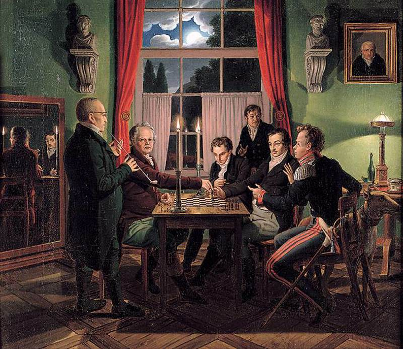 Johann Erdmann Hummel, Chess Players 1818-19