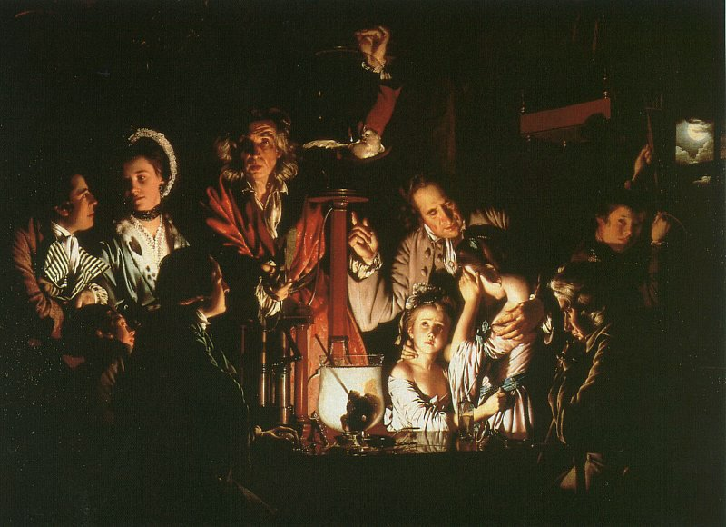 Joseph Wright Of Derby, Experiment With The Air Pump, 1768