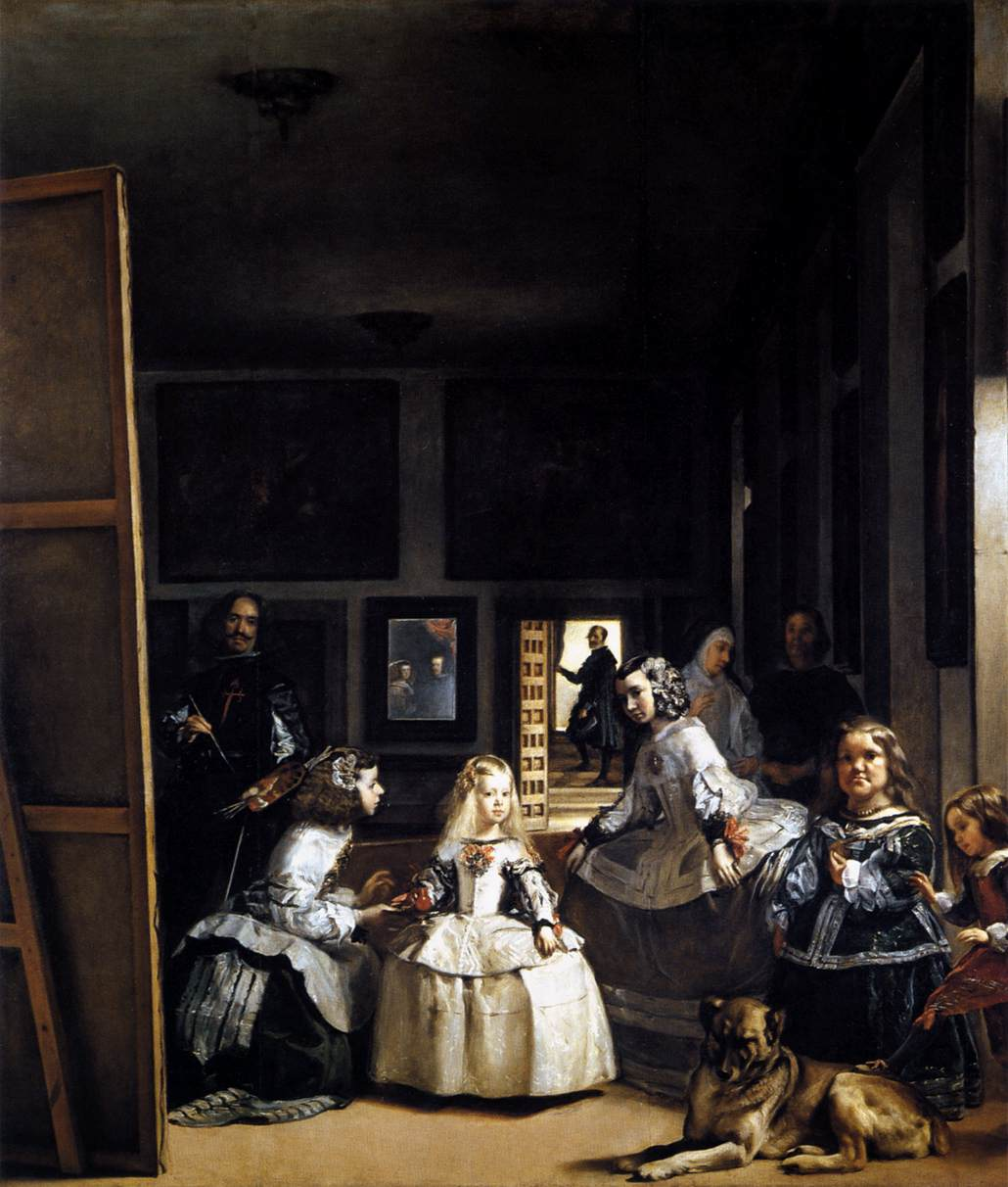 Diego Velazquez, Las Meninas or The Family of Philip IV 1656-57