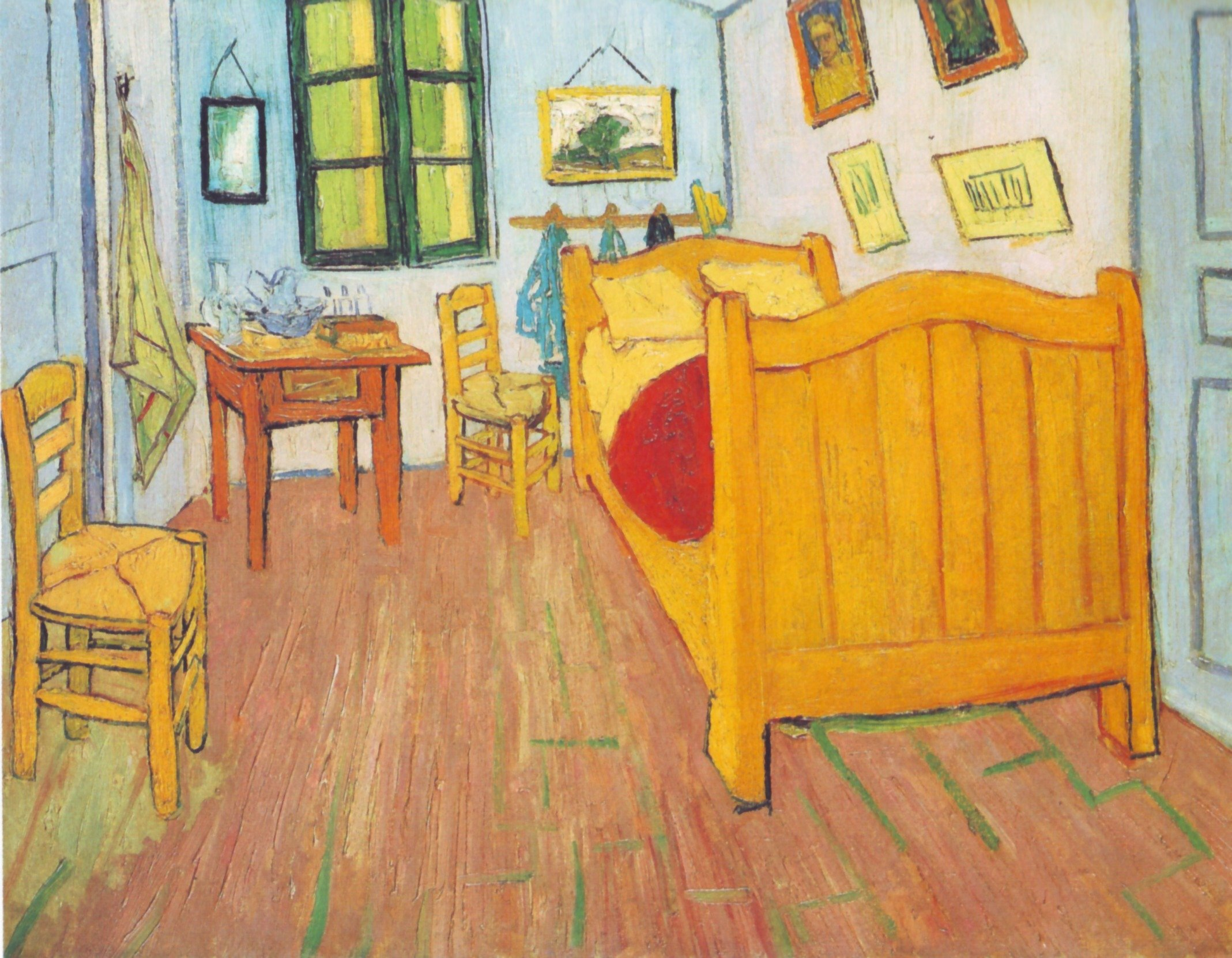 Vincent Van Gogh, The Bedroom, 1889