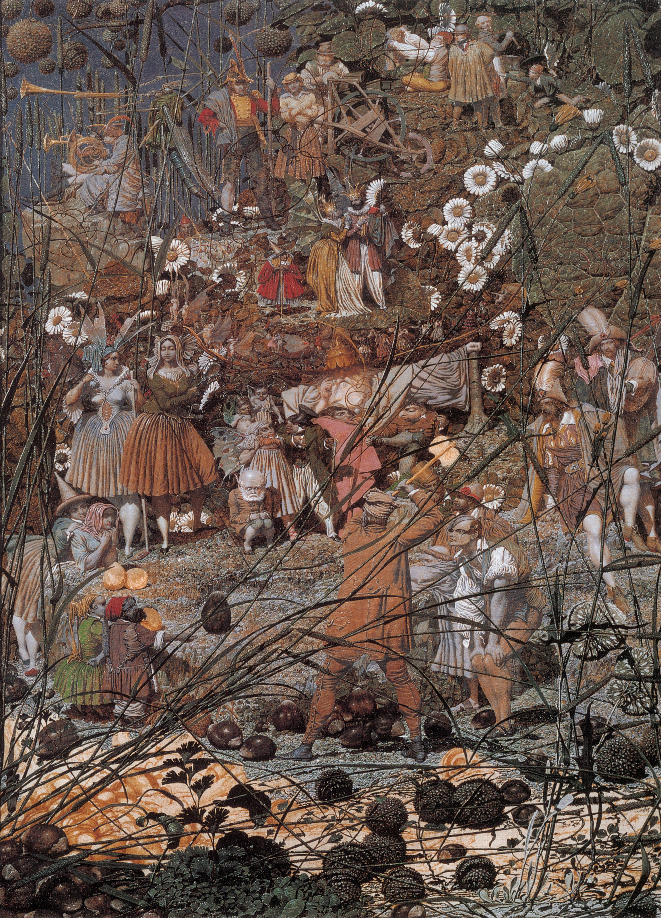 Richard Dadd, The Fairy Feller's Masterstroke 1858-64