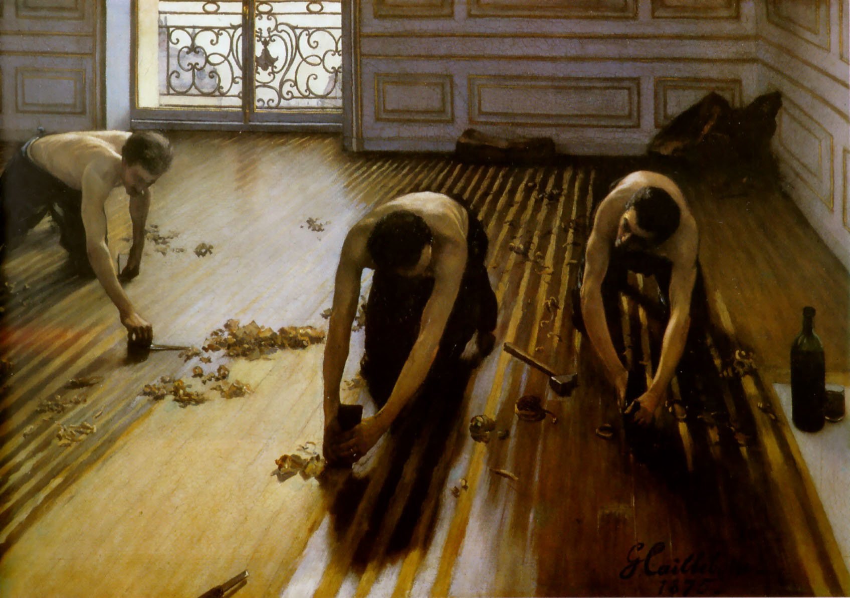 Gustave Caillebotte, The Floor Scrapers 1875