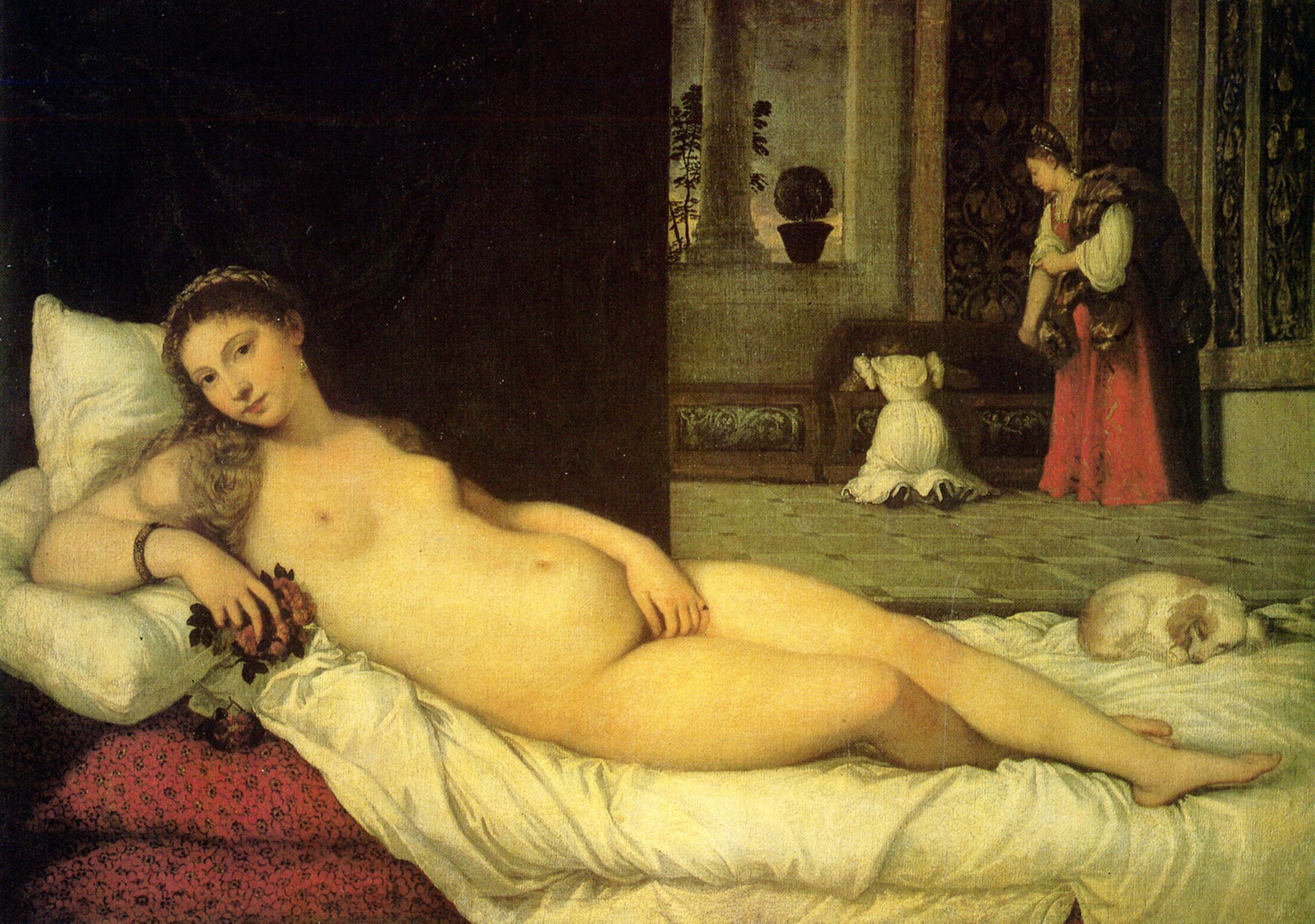 Titian, The Venus of Urbino 1538