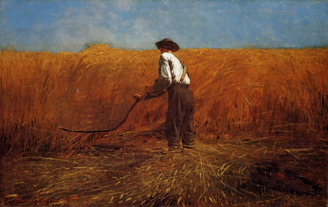 Winslow Homer, The Veteran in a New Field, 1865