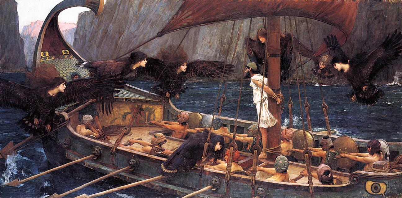 John William Waterhouse, Ulysses and the Sirens 1891