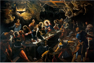 The Last Supper 1592-94