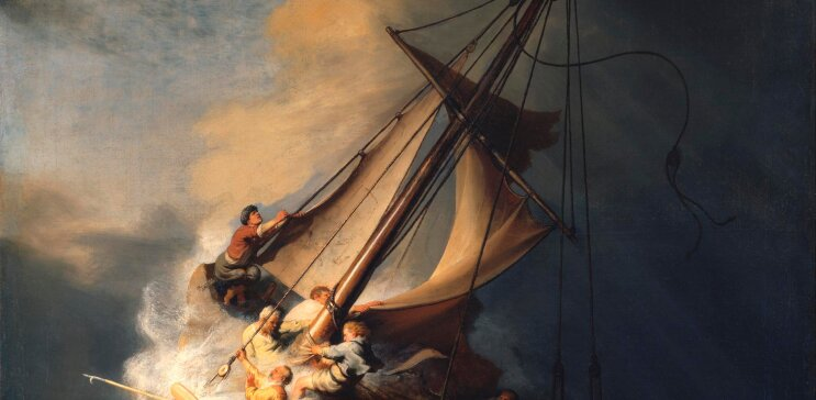 Storms & Rough Water Paintings by Famous Artists   1st Art