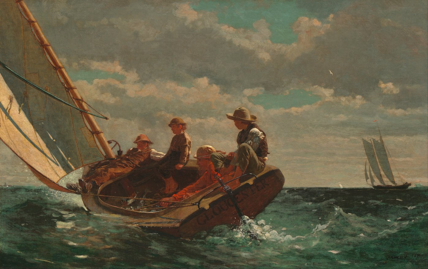 Winslow Homer background