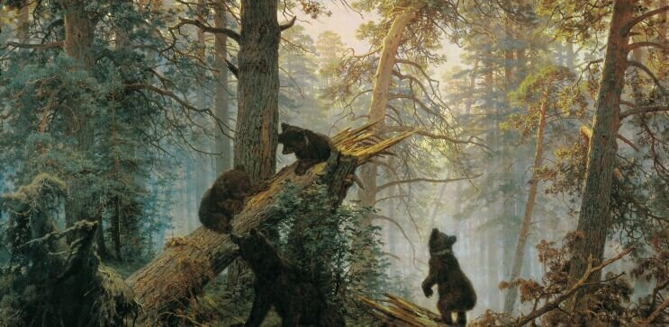 Bears oil painting reproductions by 1st-Art-Gallery.com