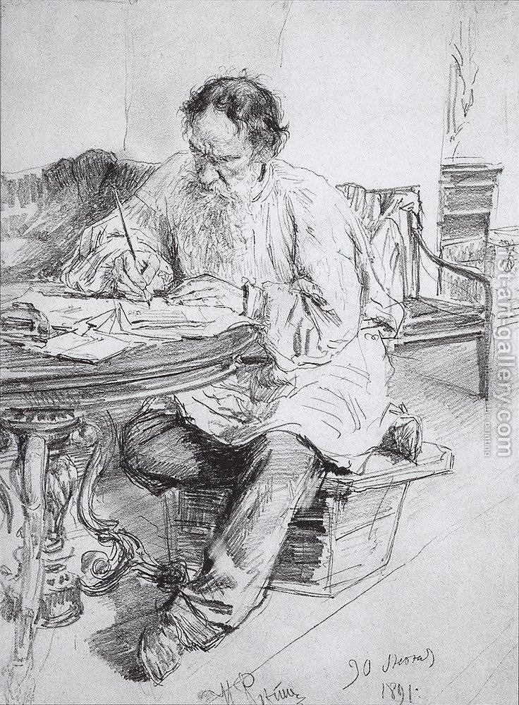 tolstoys essay art Prominent among the faults noted by commentators have been the unremitting moralism of the essay in its approach to art  in what is art three assumptions are.