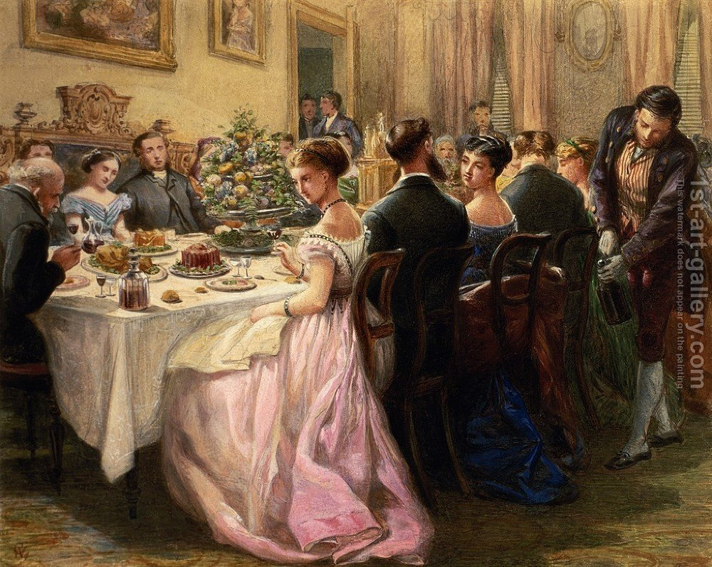 the dinner party sir henry cole reproduction | 1st art gallery