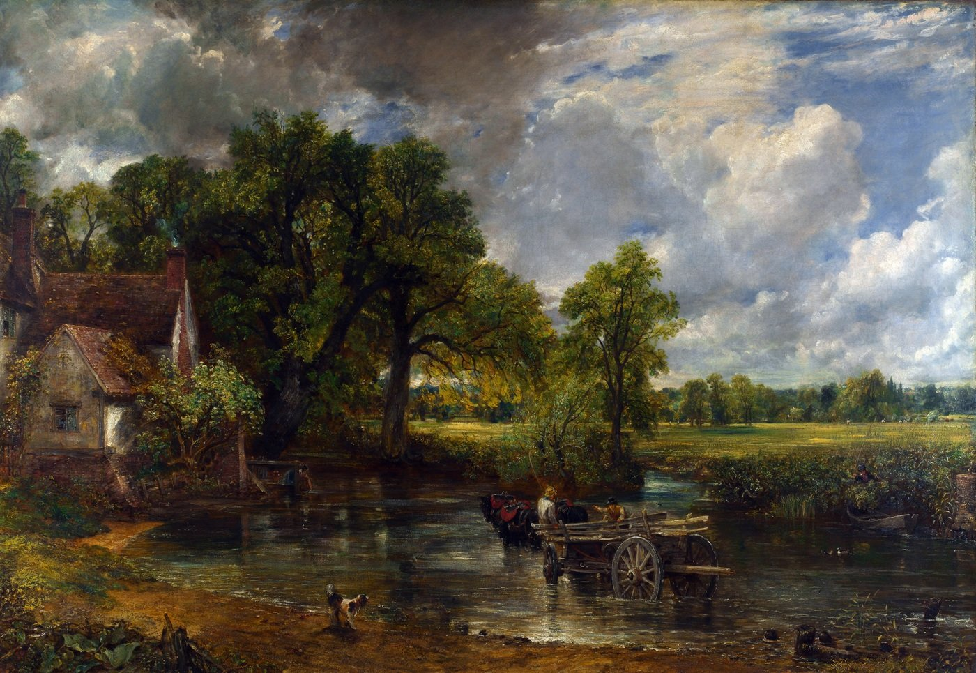 John Constable background