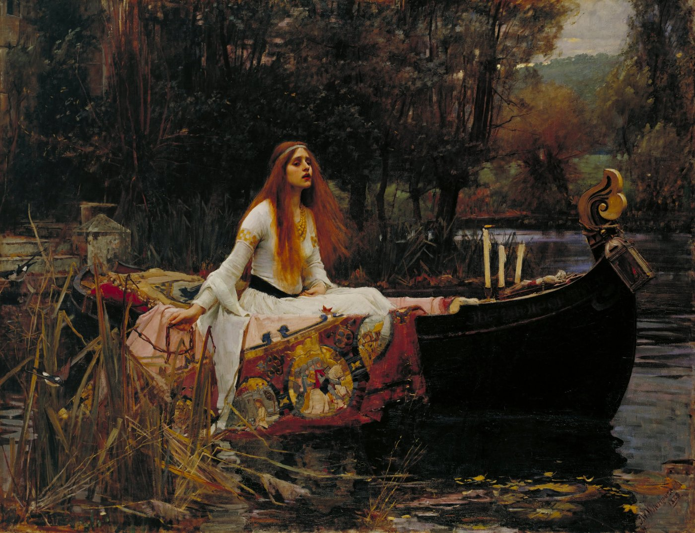 John William Waterhouse background