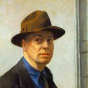 Edward Hopper portrait