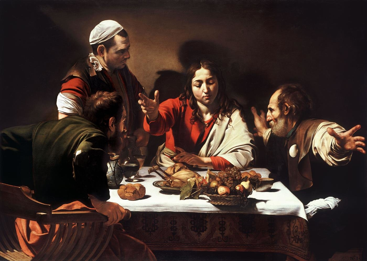 Caravaggio background