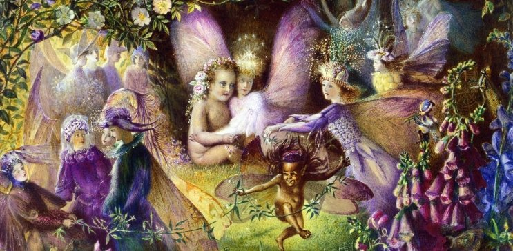 Fairies oil painting reproductions by 1st-Art-Gallery.com