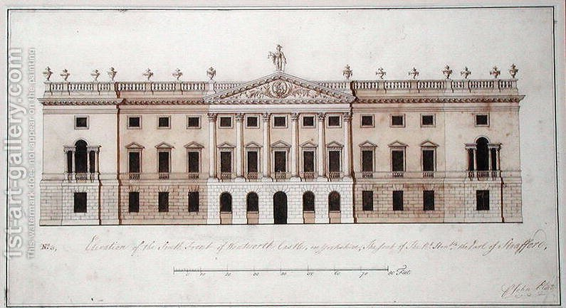Wentworth Castle Design For The South Front