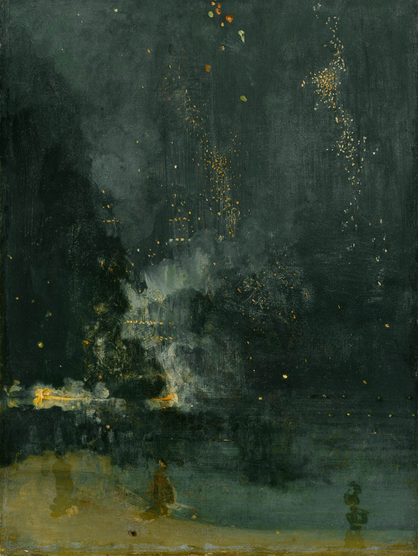 James Abbott McNeill Whistler background