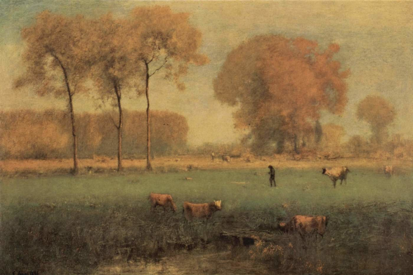 George Inness background