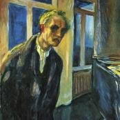 Edvard Munch portrait