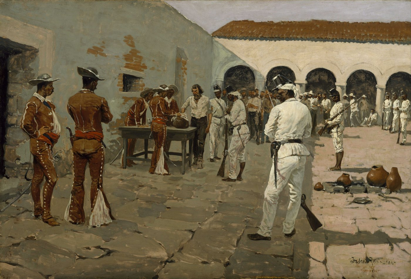 Frederic Remington background
