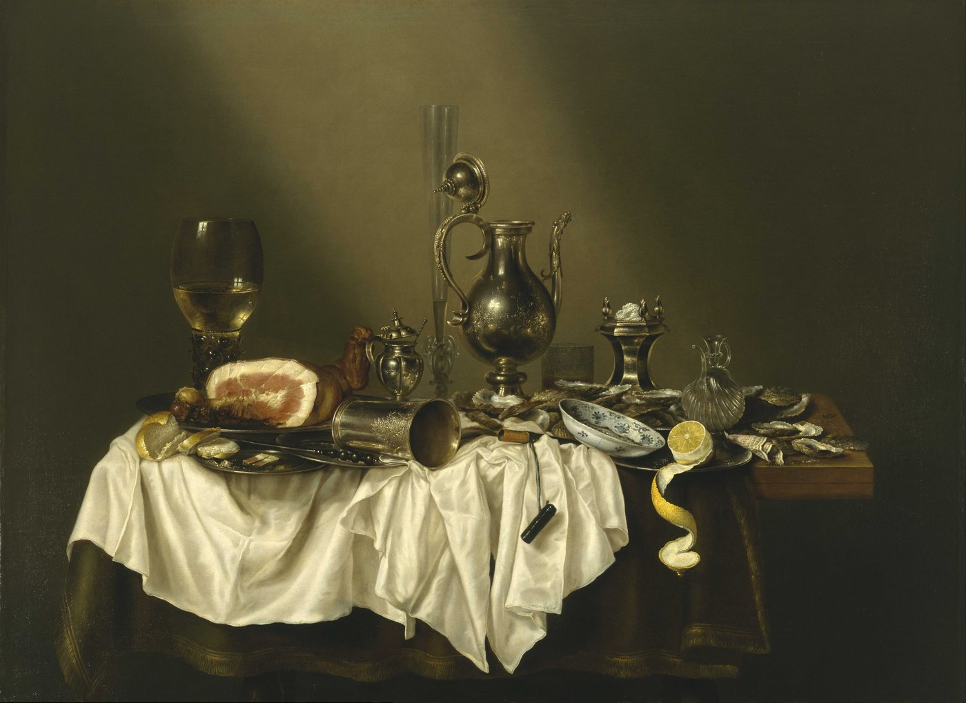 Willem Claesz. Heda background