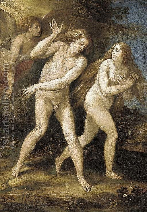 Army porn expulsion of adam and eve