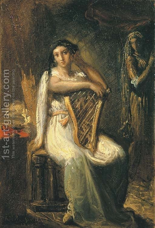 role of desdemona You must mean emilia iago's wife, and desdemona's handmaiden she is entrusted with bringing people into desdemona's presence, staying with her at all times, etc emilia is not aware of her husband&#039s machinations, nor his darker qualities.