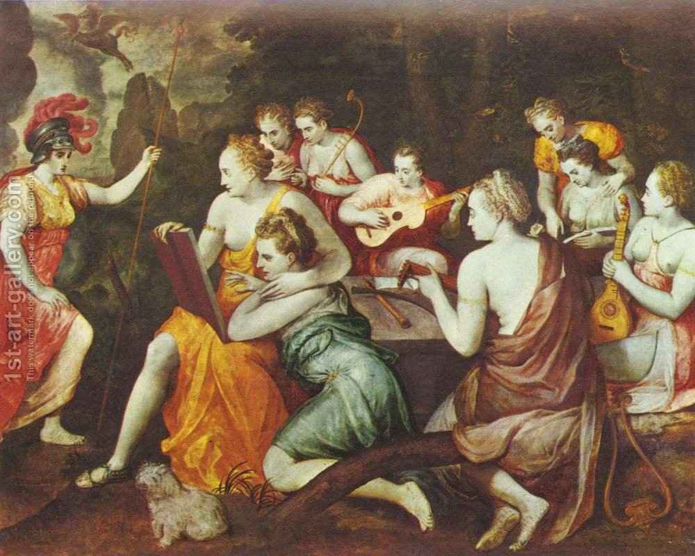 an introduction to the muses the greek goddesses of arts and scienses Muses, creatures & winds in greek mythology the muses were goddesses of the arts introduction to ancient greece.