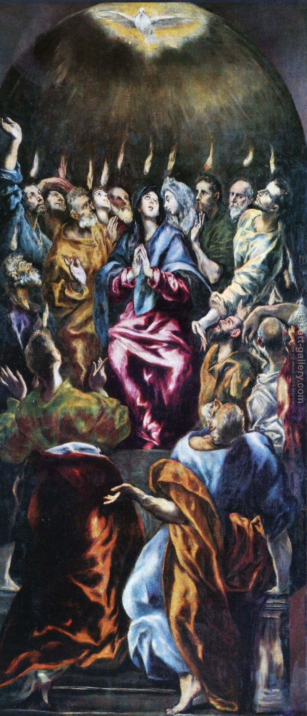pentecost and the outpouring of the