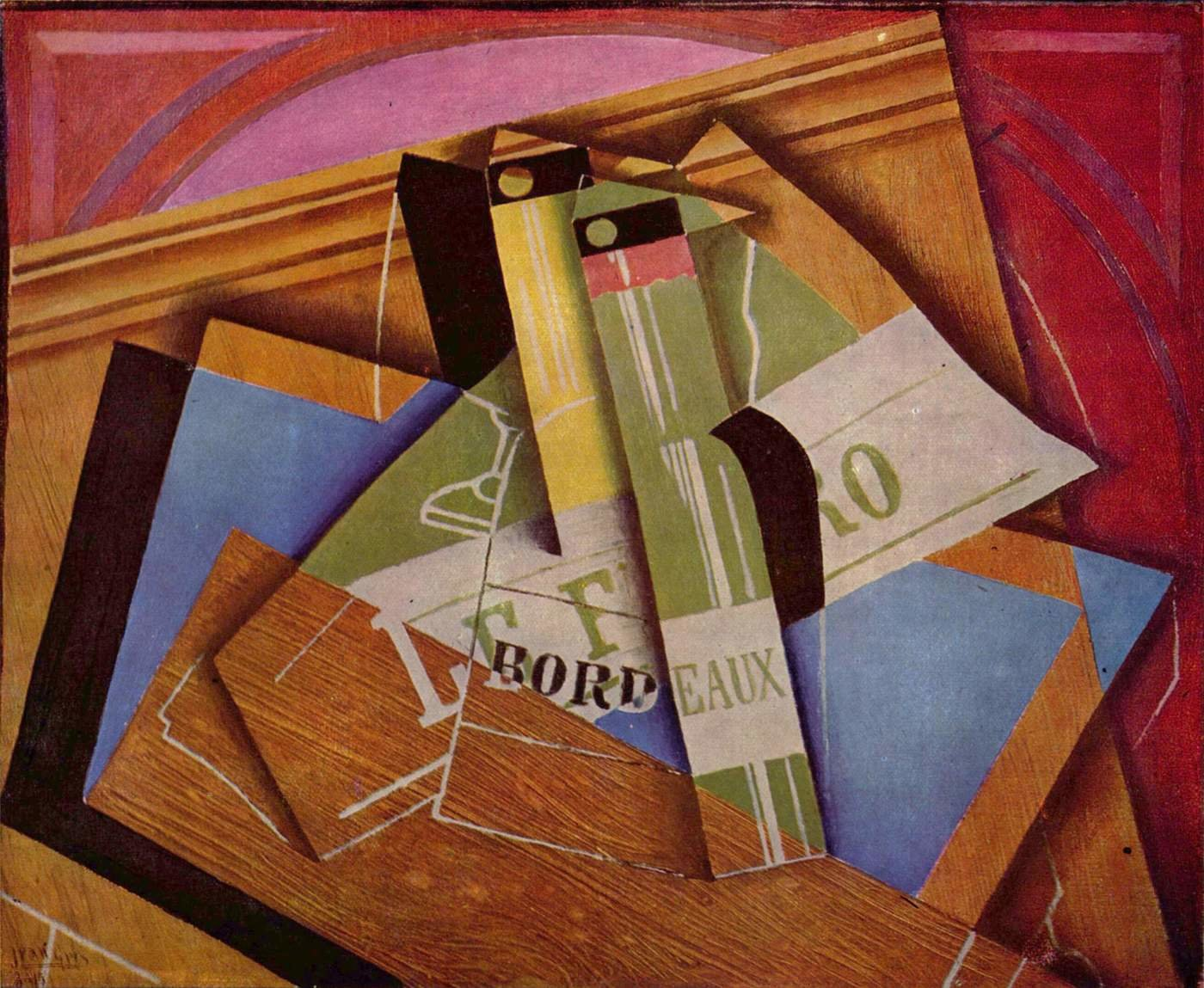Juan Gris background