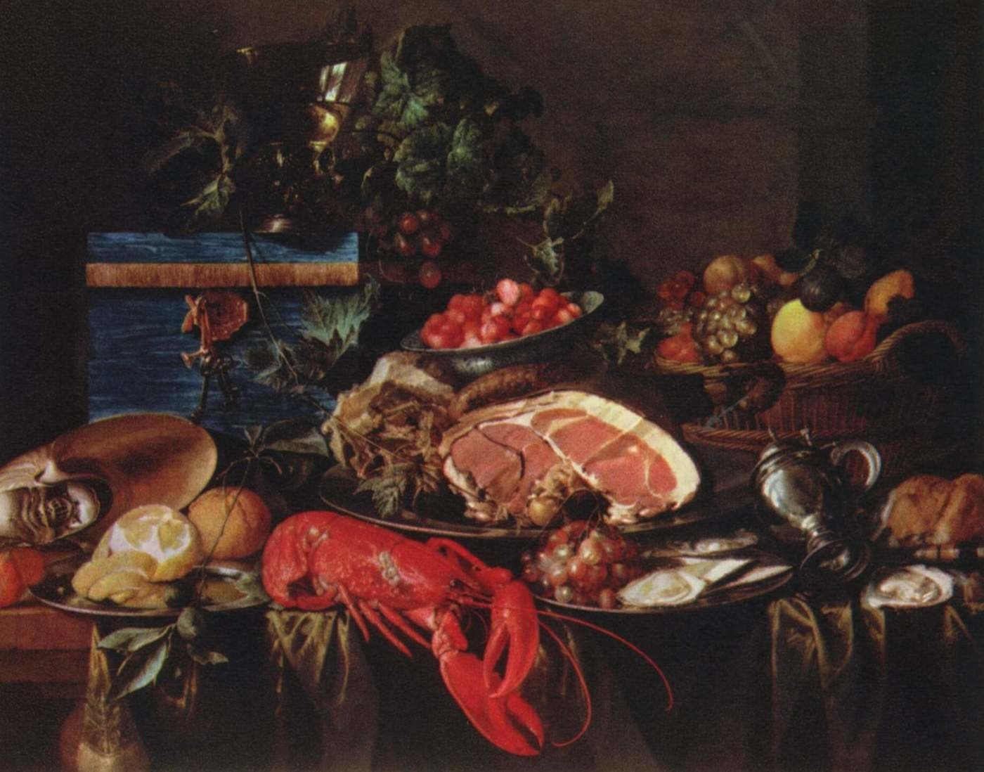 Jan Davidsz. De Heem background