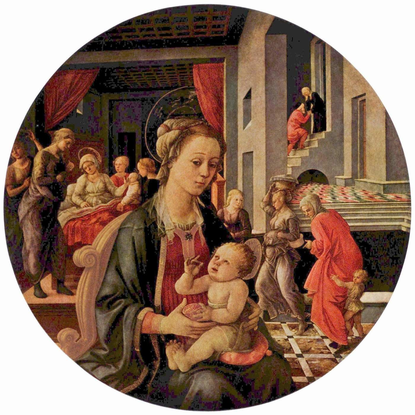 a new monumental painting by filippino lippi