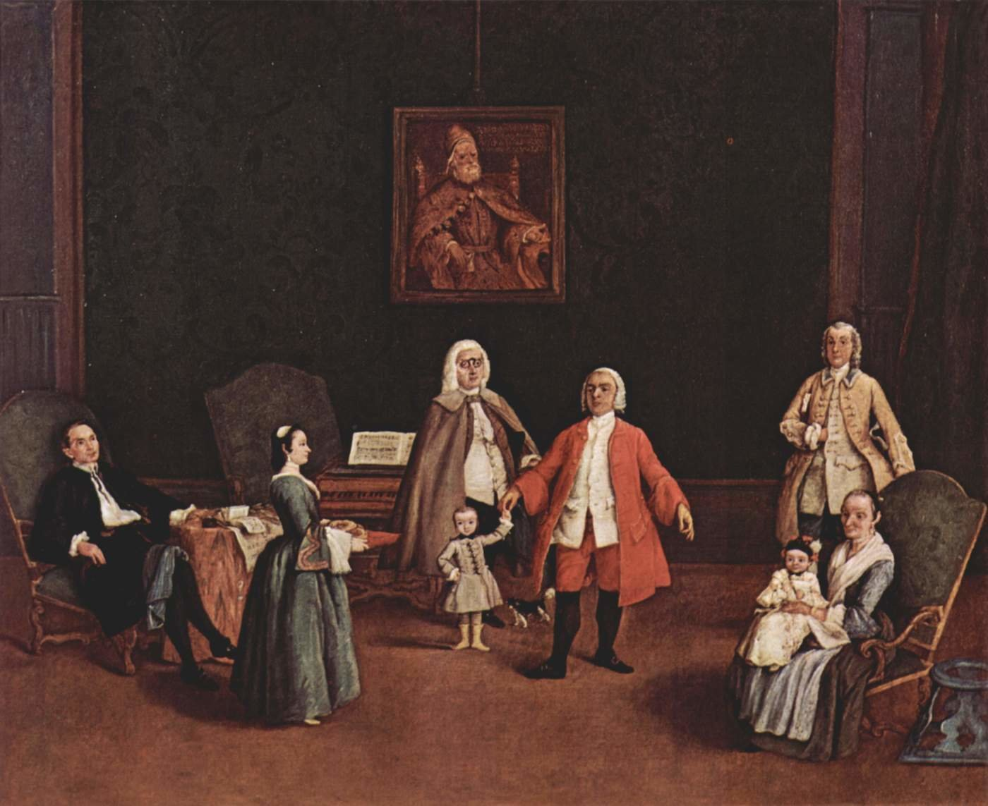 Pietro Longhi background