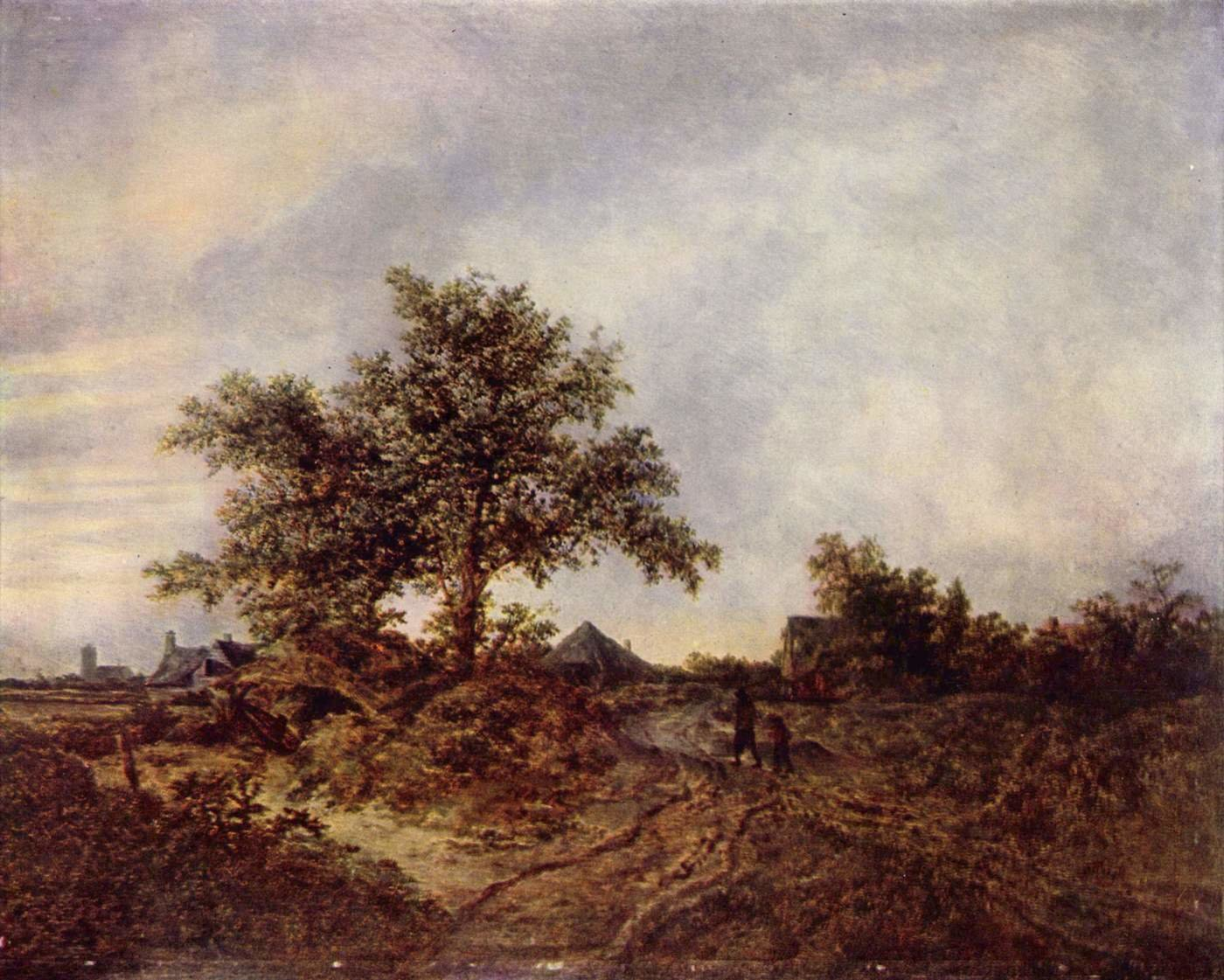 Jacob Van Ruisdael background