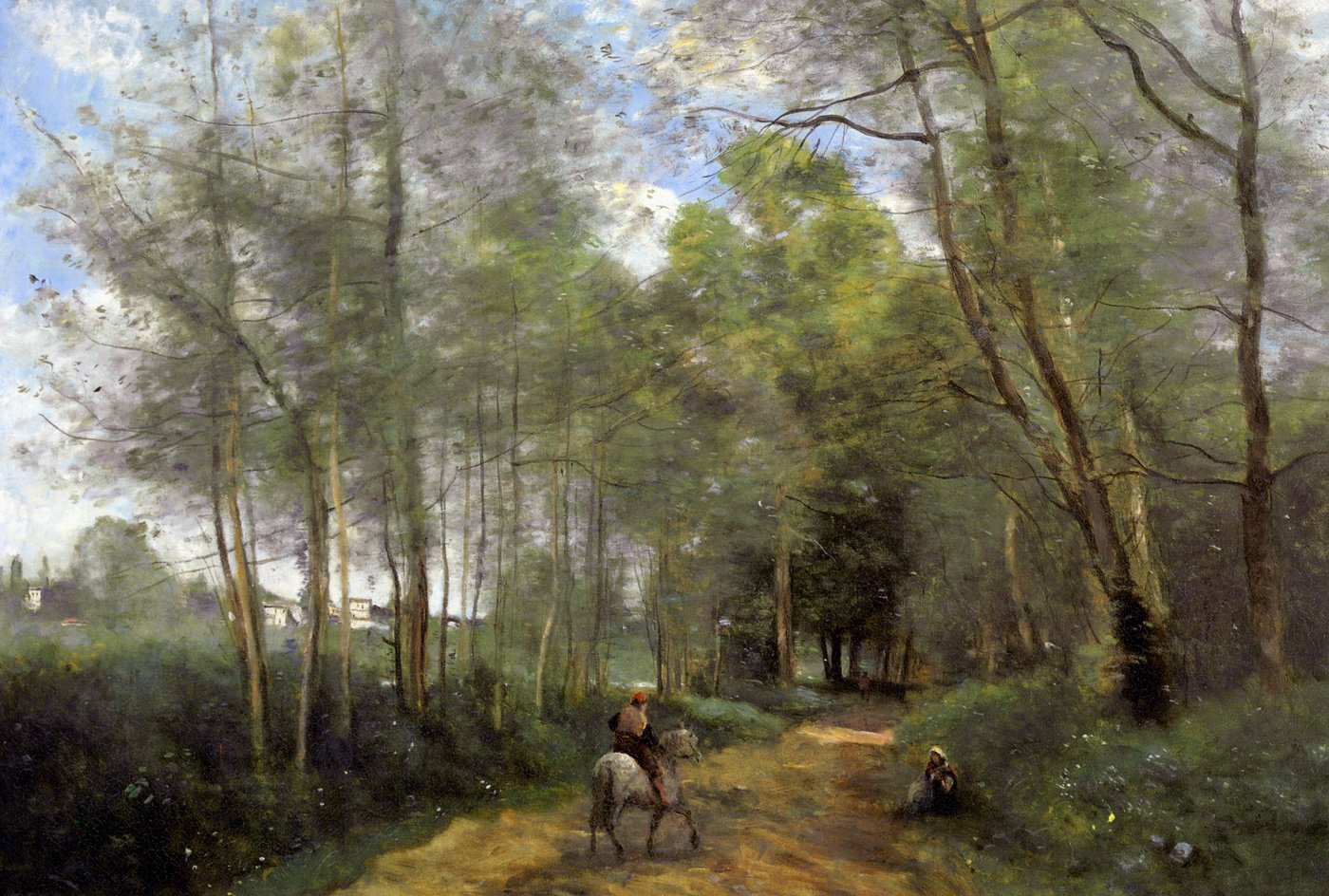Jean-Baptiste-Camille Corot background