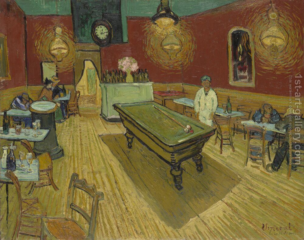 The Night Cafe In The Place Lamartine In Arles Vincent Van Gogh ...