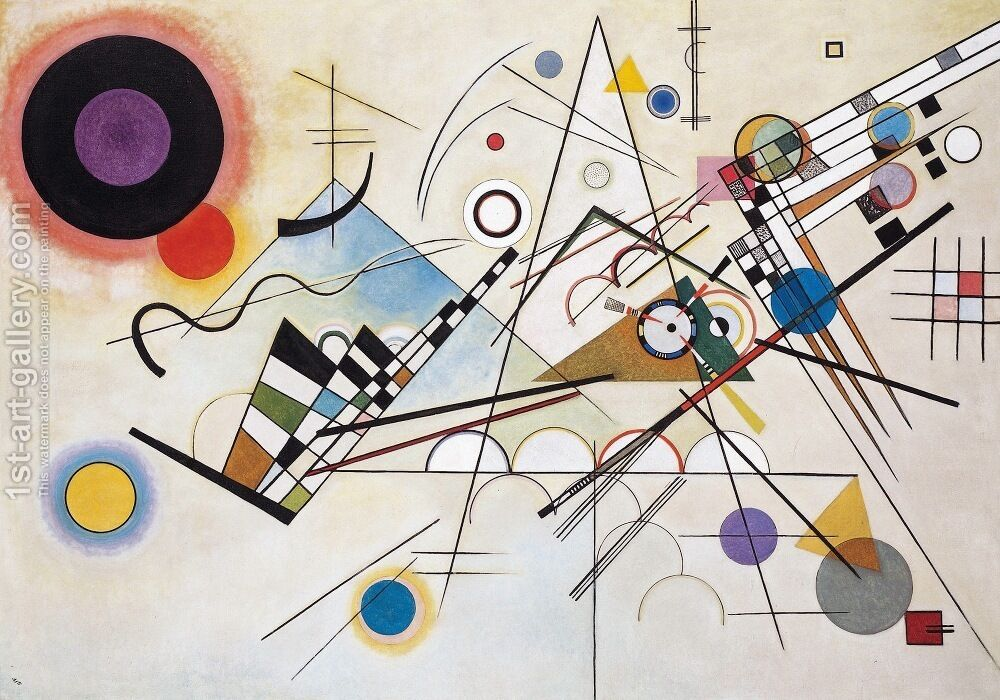 Wassily Kandinsky Composition VIII Reproduction | 1st Art Gallery