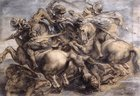 The Battle of Anghiari (detail) 1503-05