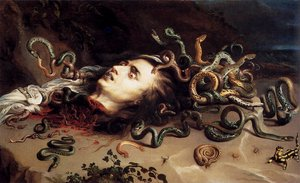 Reproduction oil paintings - Rubens - Head Of Medusa
