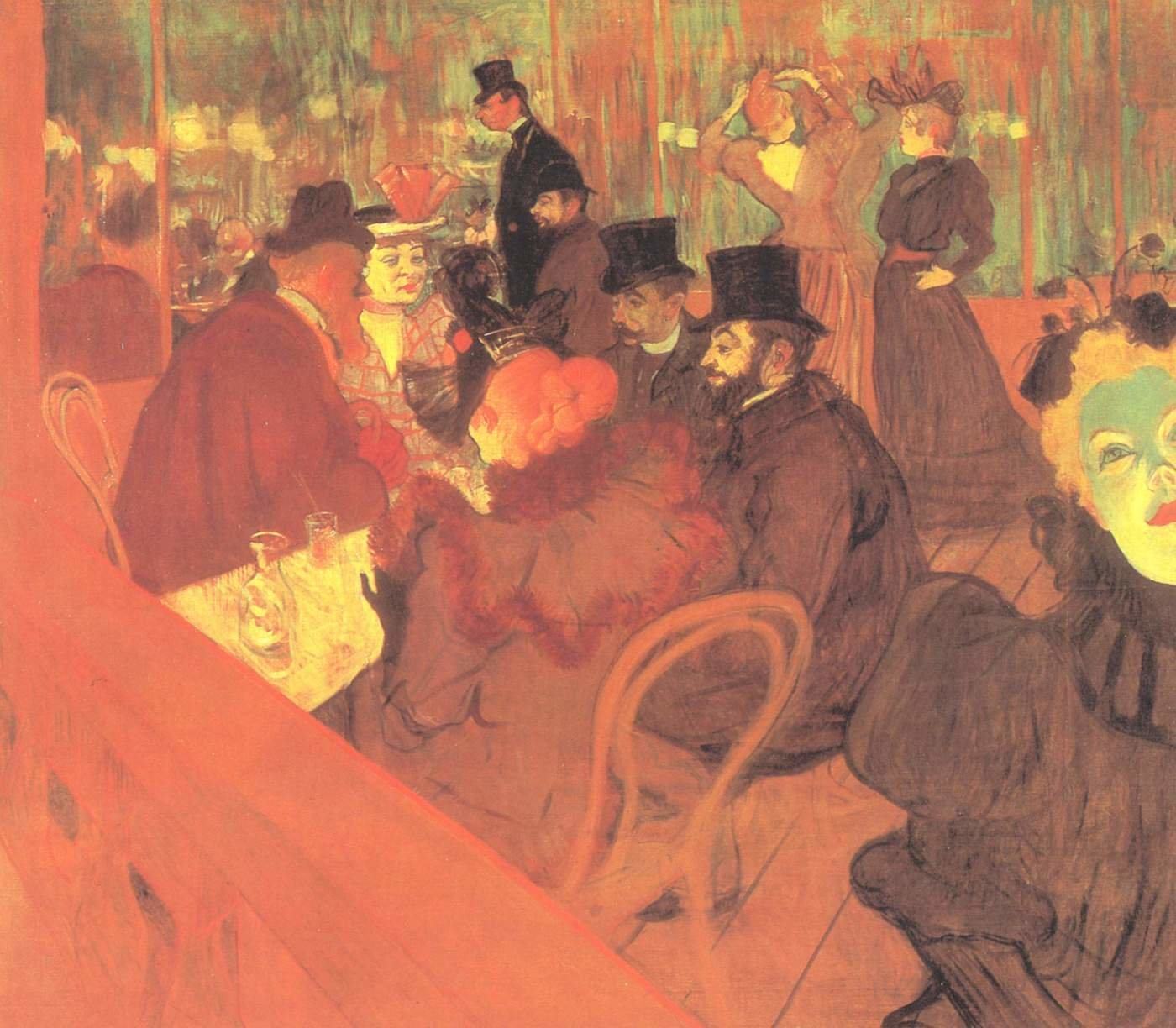 Henri De Toulouse-Lautrec background