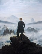 The Wanderer above the Mists 1817-18