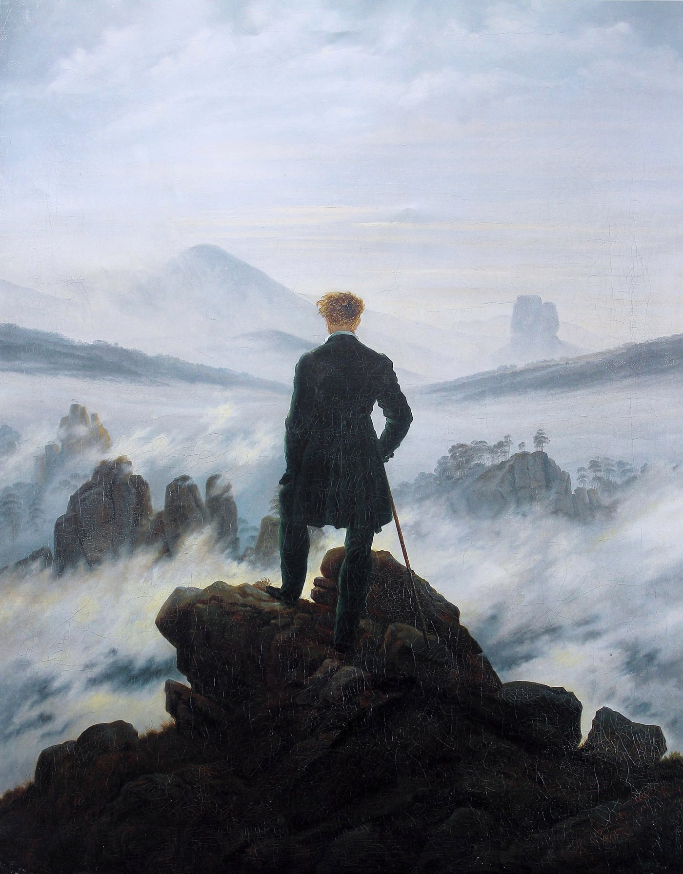 Caspar David Friedrich background