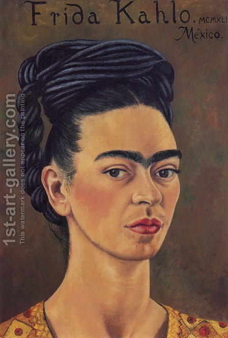 Frida Kahlo: Self Portrait 1941 - reproduction oil painting