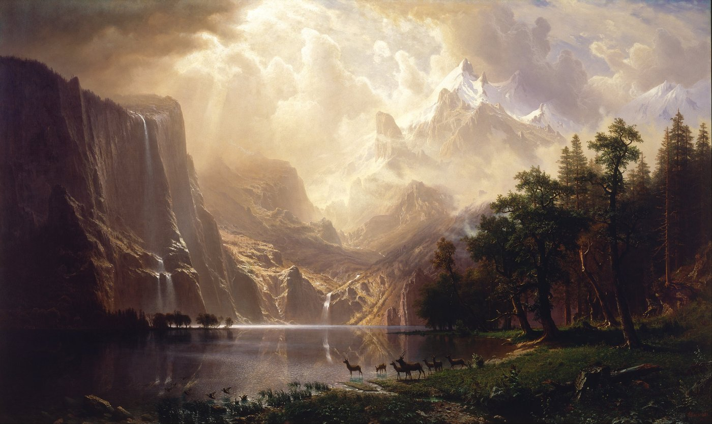 Hudson River School oil painting reproductions