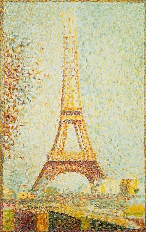 Pointillism oil painting reproductions