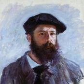 Claude Oscar Monet portrait