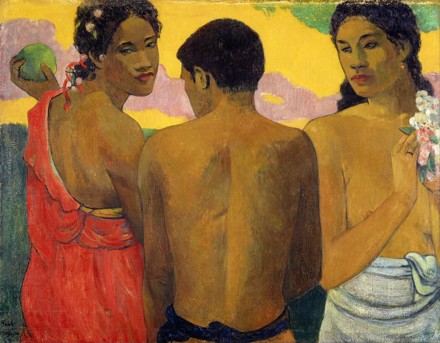Paul Gauguin background