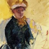 Mary Cassatt portrait